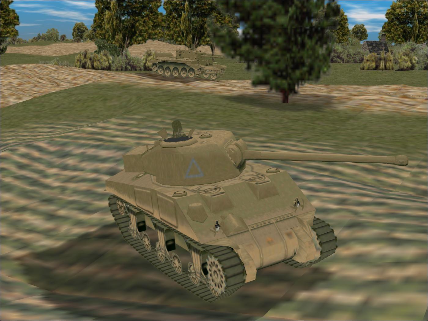 Panzer Elite Brit44-x beta - Sherman Firefly & Cromwell, Normandy