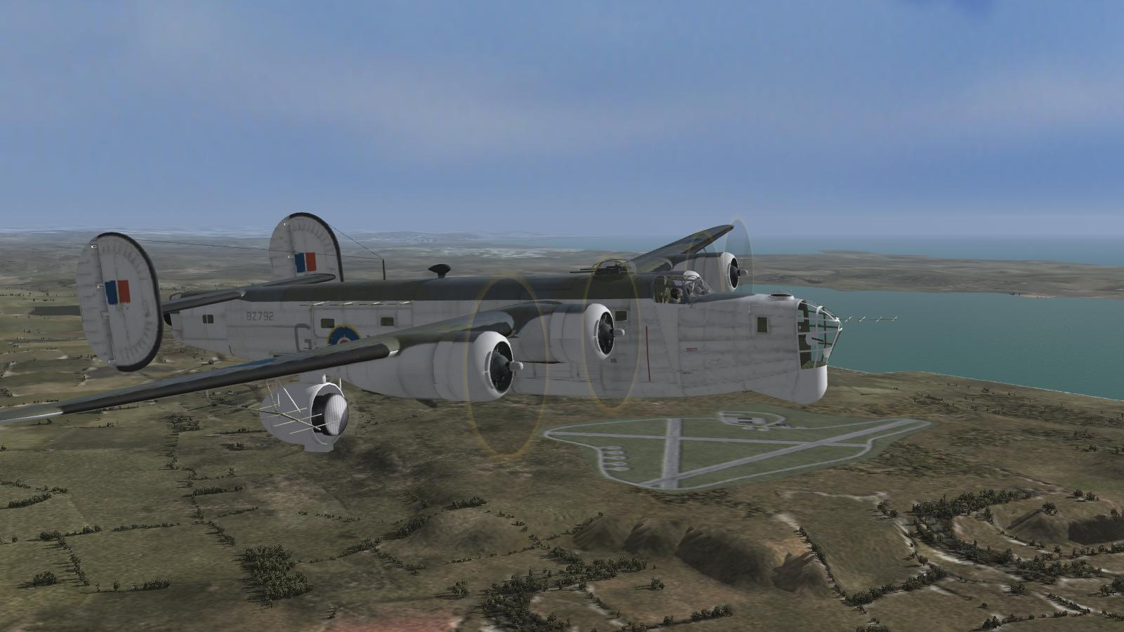 CFS3+ETO Expansion+DX9 mod - Coastal Command Liberator GR V