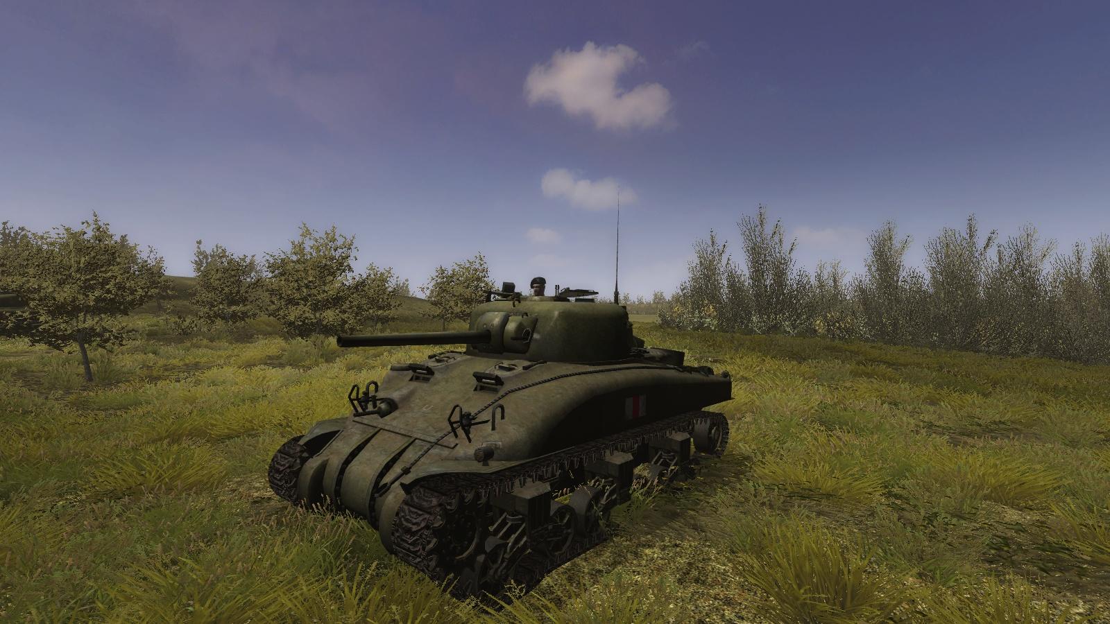 Steel Fury+STA mod - Sherman II