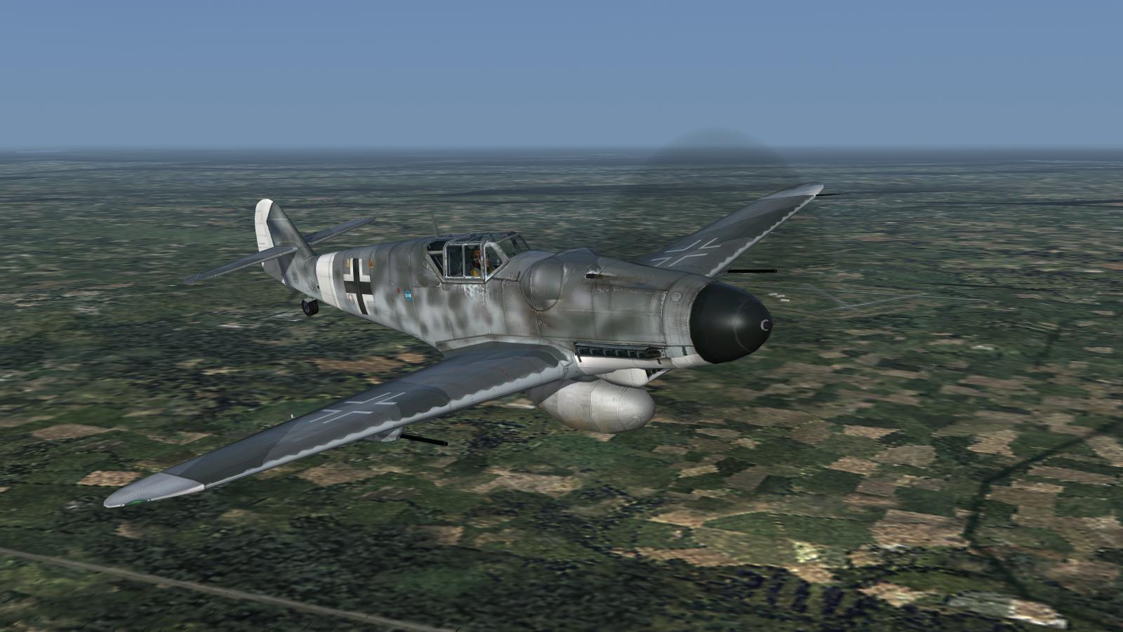 CFS3+DX9 mod - stock Bf109G-6