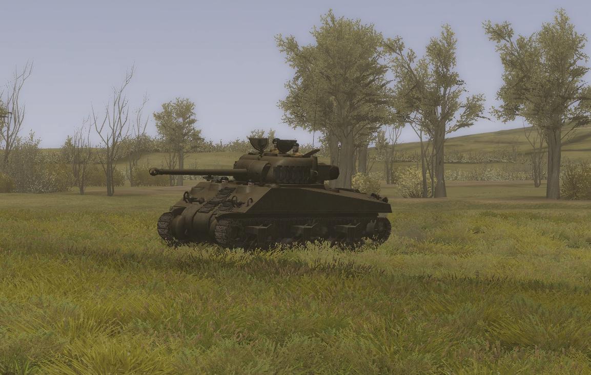 Steel Fury+STA mod - Sherman Firefly