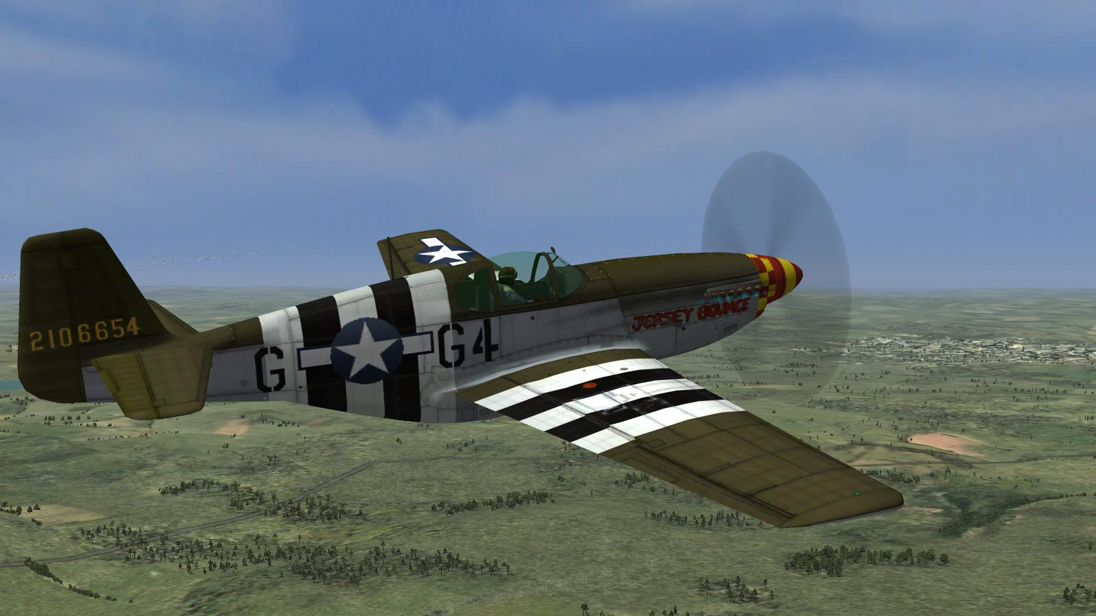 CFS3+ETO Expansion+July '16 DX9 mod - P-51B