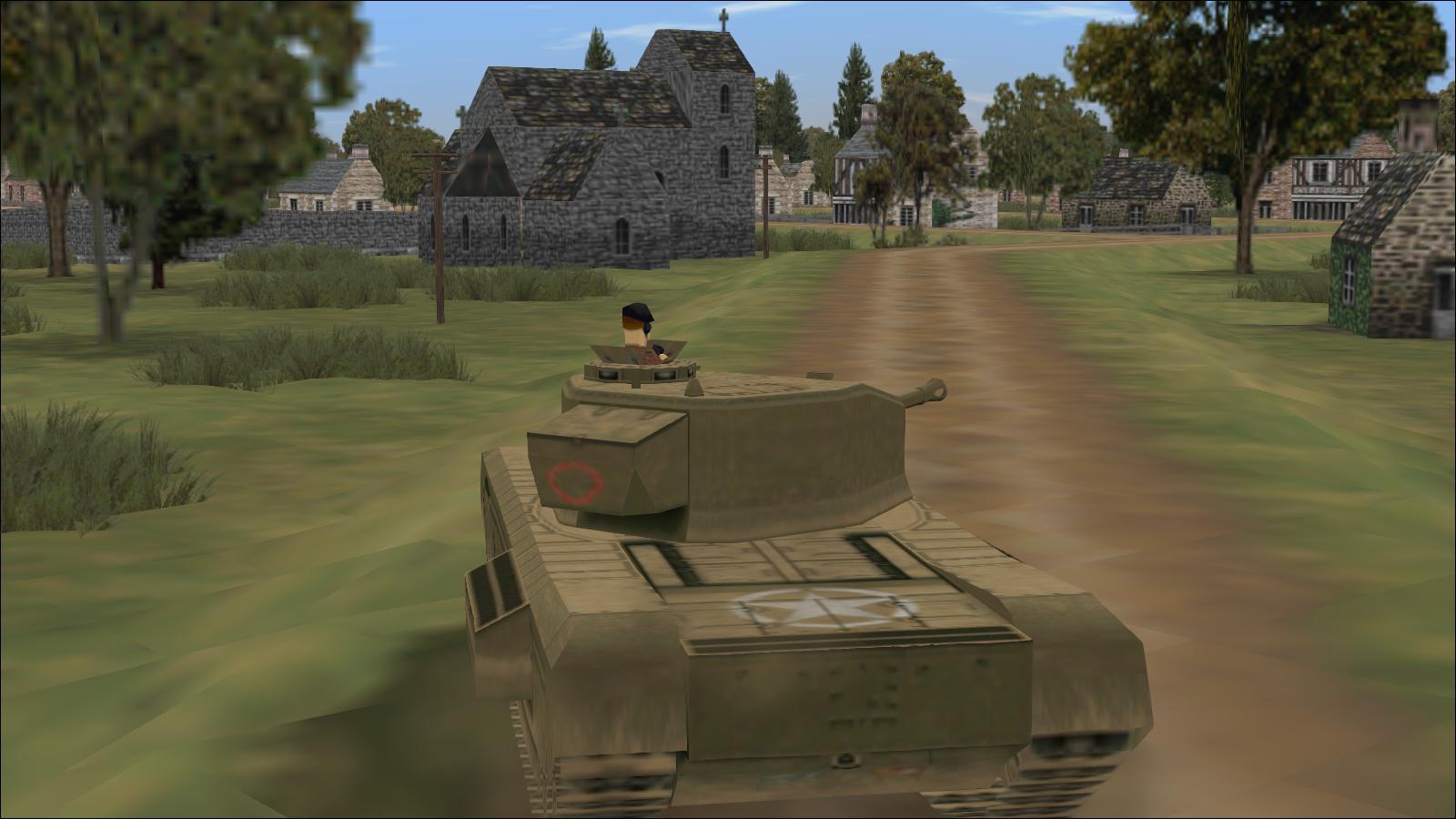 Panzer Elite - Brit44-x testing - Churchill VII at Gavray