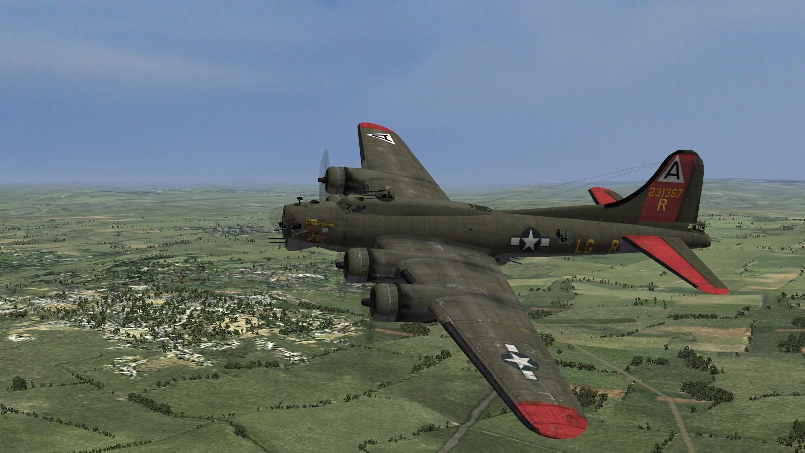CFS3+ETO Expansion+July '16 DX9 mod - B-17G