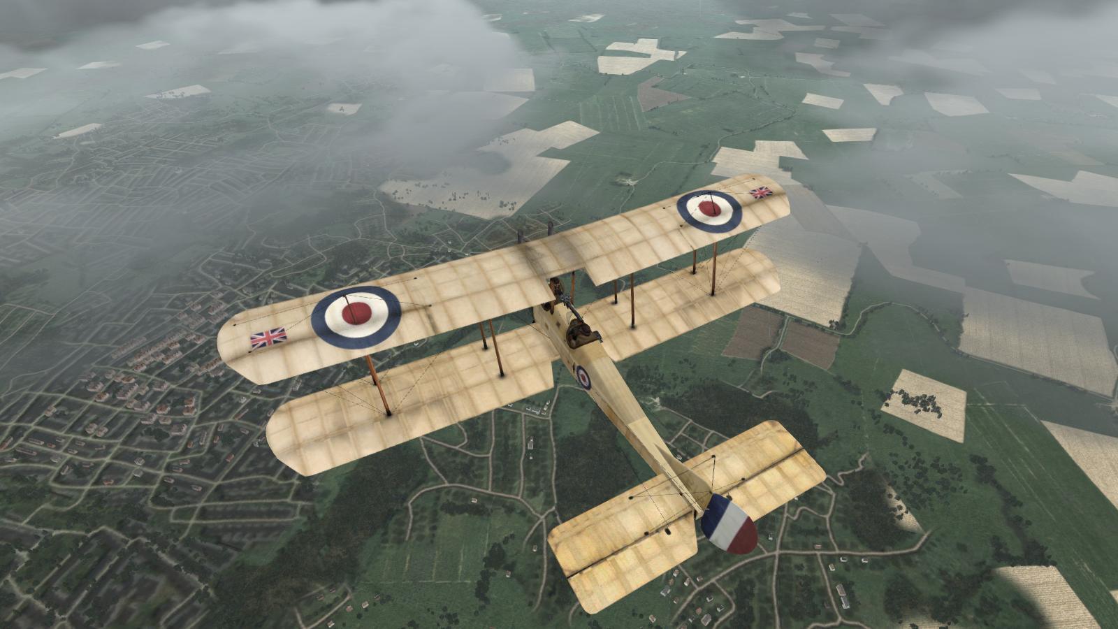 Wings Over Flanders Fields - BE2c, 16 Sqdn RFC, May 1915