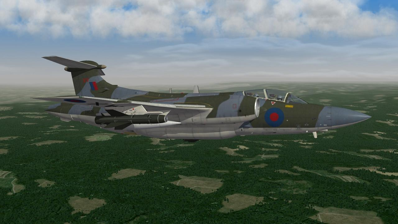 Strike Fighters 2 + NATO Fighters - Buccaneer