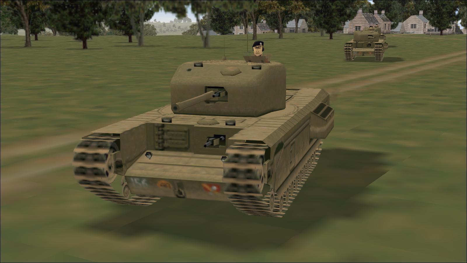 Panzer Elite - Britpack '44-x beta - Churchill IV