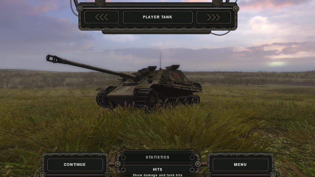Steel Fury+STA mod: Op Bluecoat mission: Jagdpanther of s.Pzjg.Abt 654