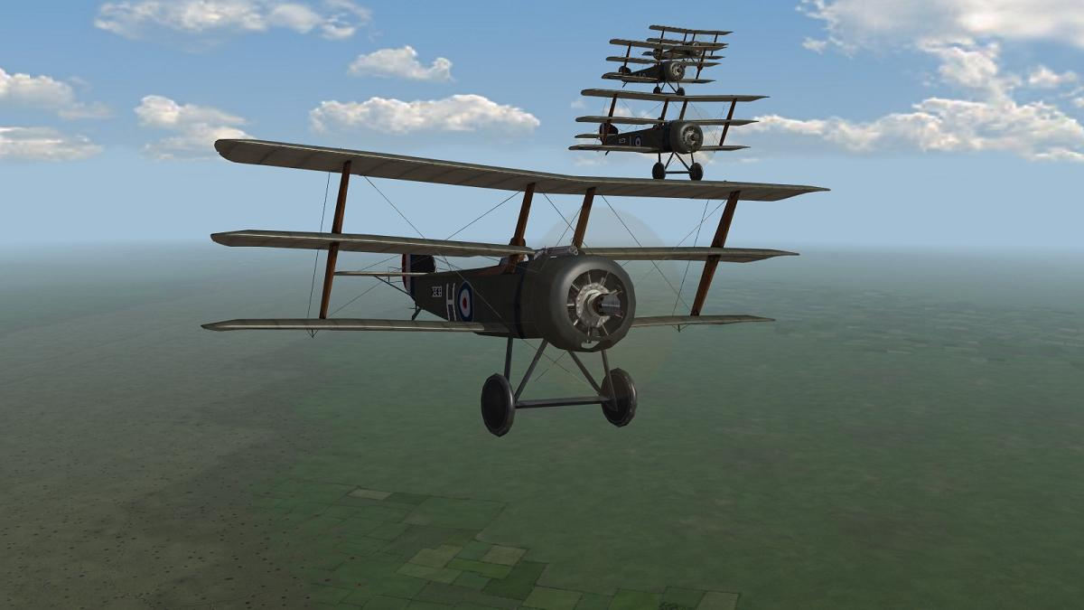 First Eagles 2 - 'A Team' Sopwith Triplane
