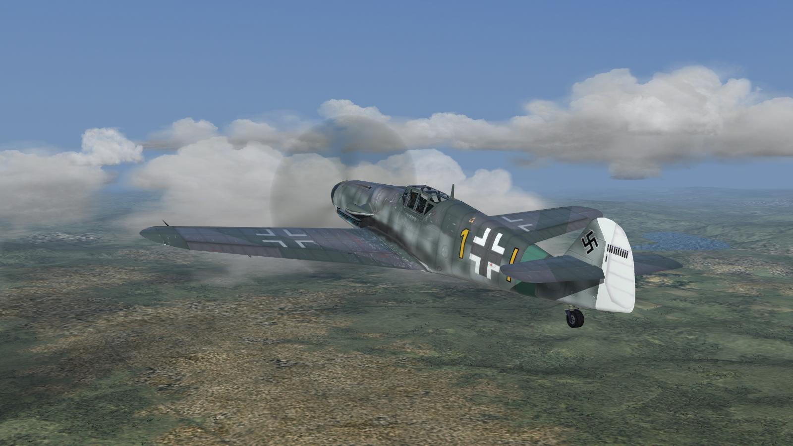CFS3 + ETO Expansion + Ankor's DX9 mod - Bf 109G-6, III/JG27
