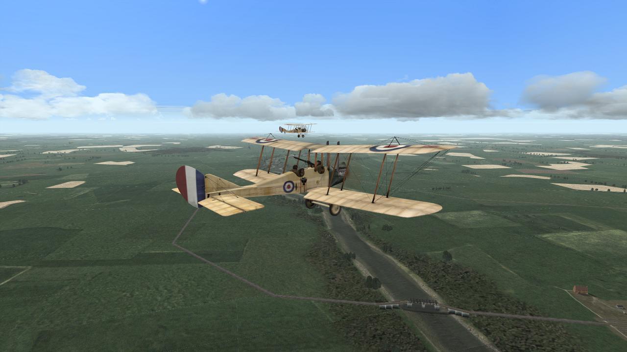 Wings Over Flanders Fields - BE2cs, 16 Sqdn RFC, May 1915