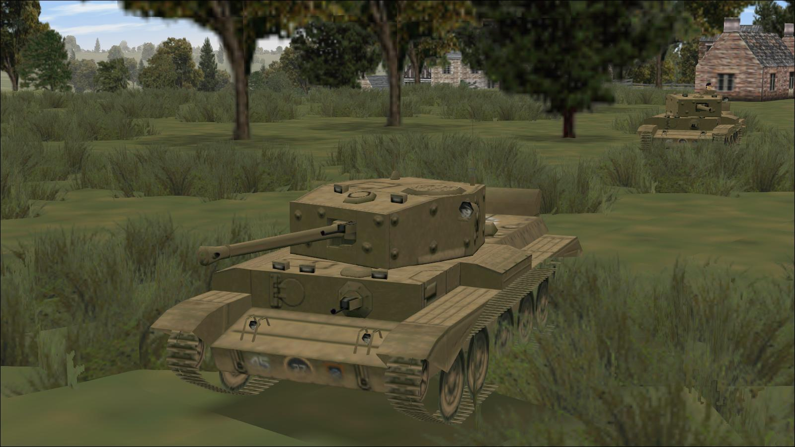 Panzer Elite + Brit44-x - Cromwell IV in Normandy