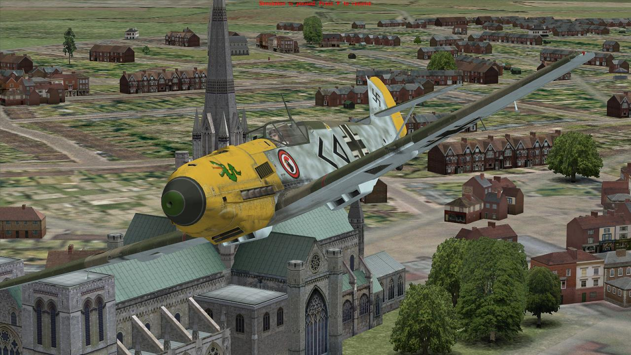 Stab I/JG3 Bf109E, summer 1940, in Battle of Britain - Wings of Victory