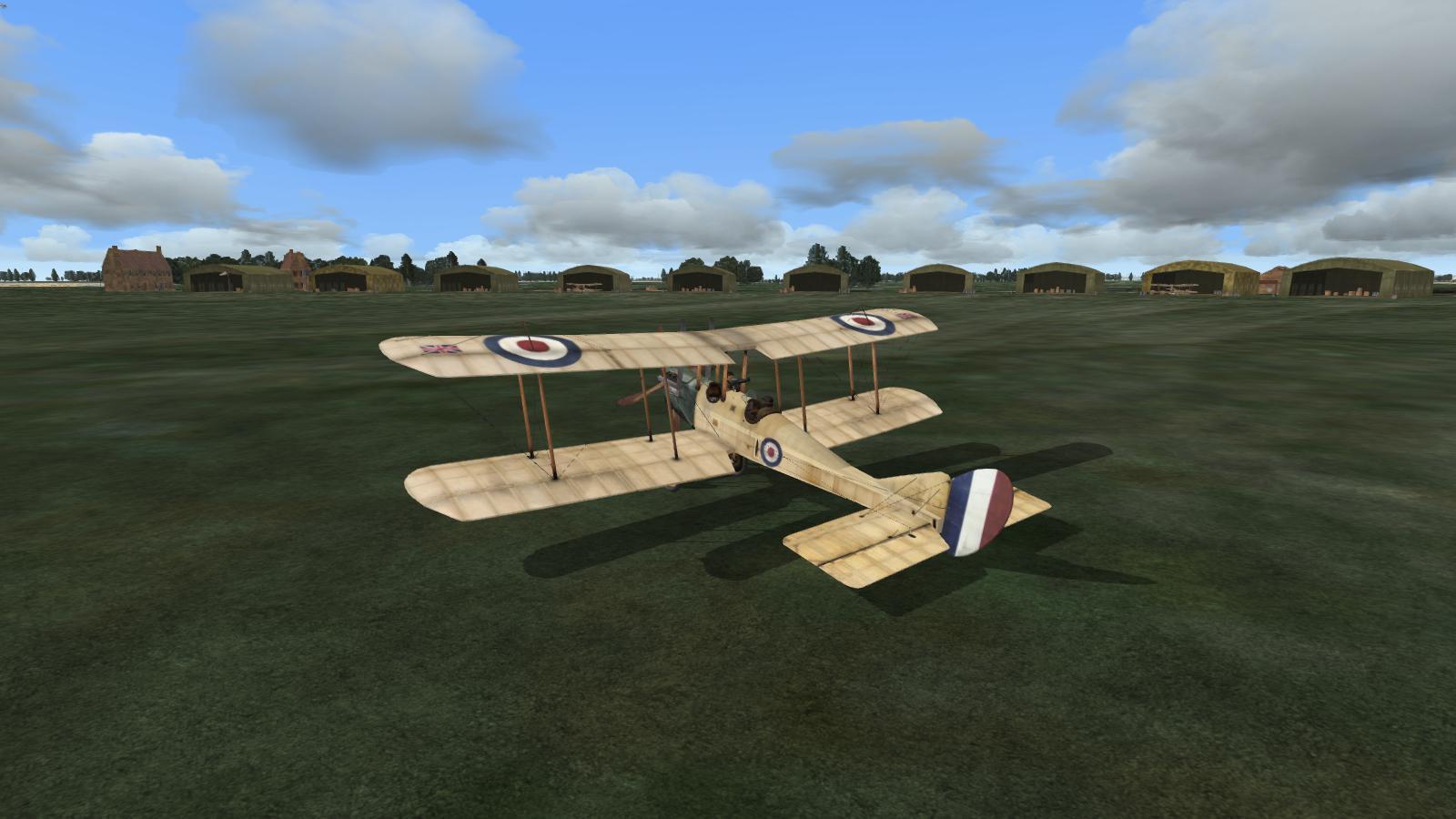 Wings Over Flanders Fields - BE2c, 16 Sqdn RFC, la Gorgue aerodrome, May 1915