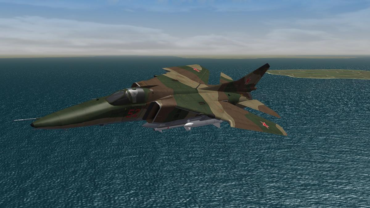 Strike Fighters 2 + NATO Fighters - MiG 27