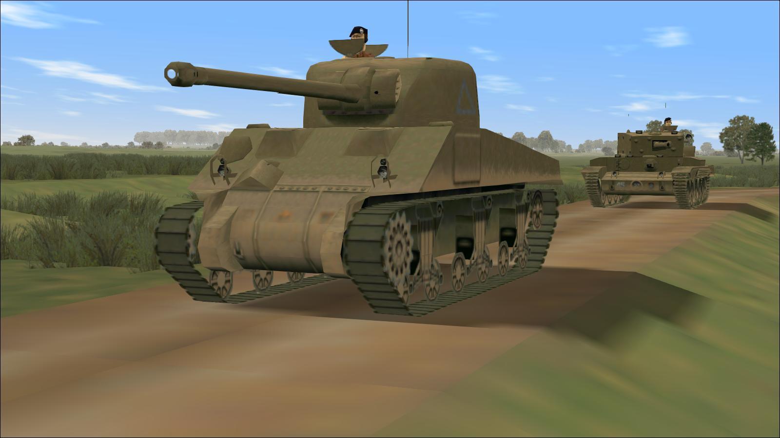 Panzer Elite - Britpack '44-x beta - Firefly & Cromwell