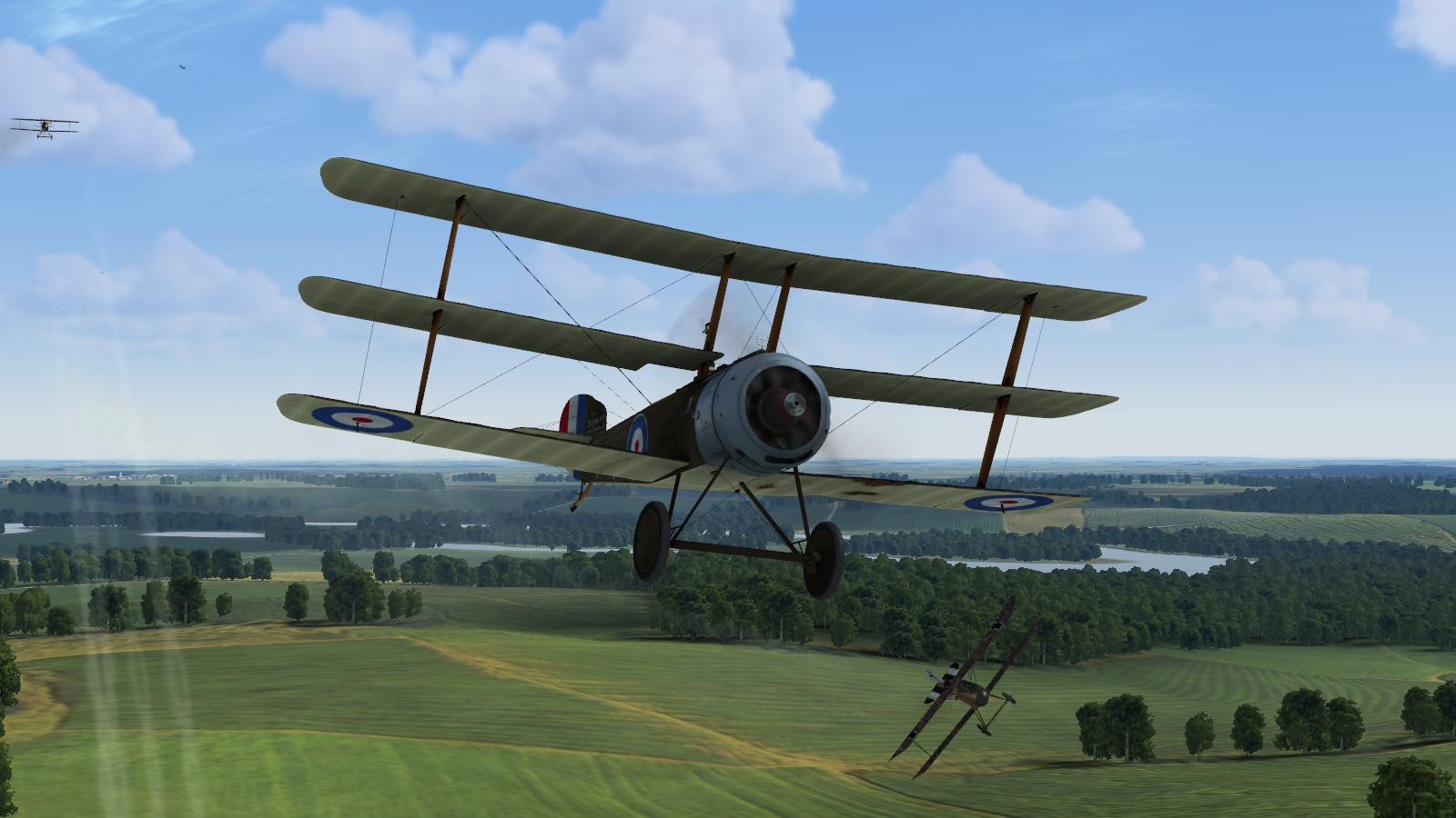 Rise of Flight - Sopwith Triplane