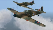 79 Sqdn Hurricane MkIs, summer 1940, in Battle of Britain - Wings of Victory