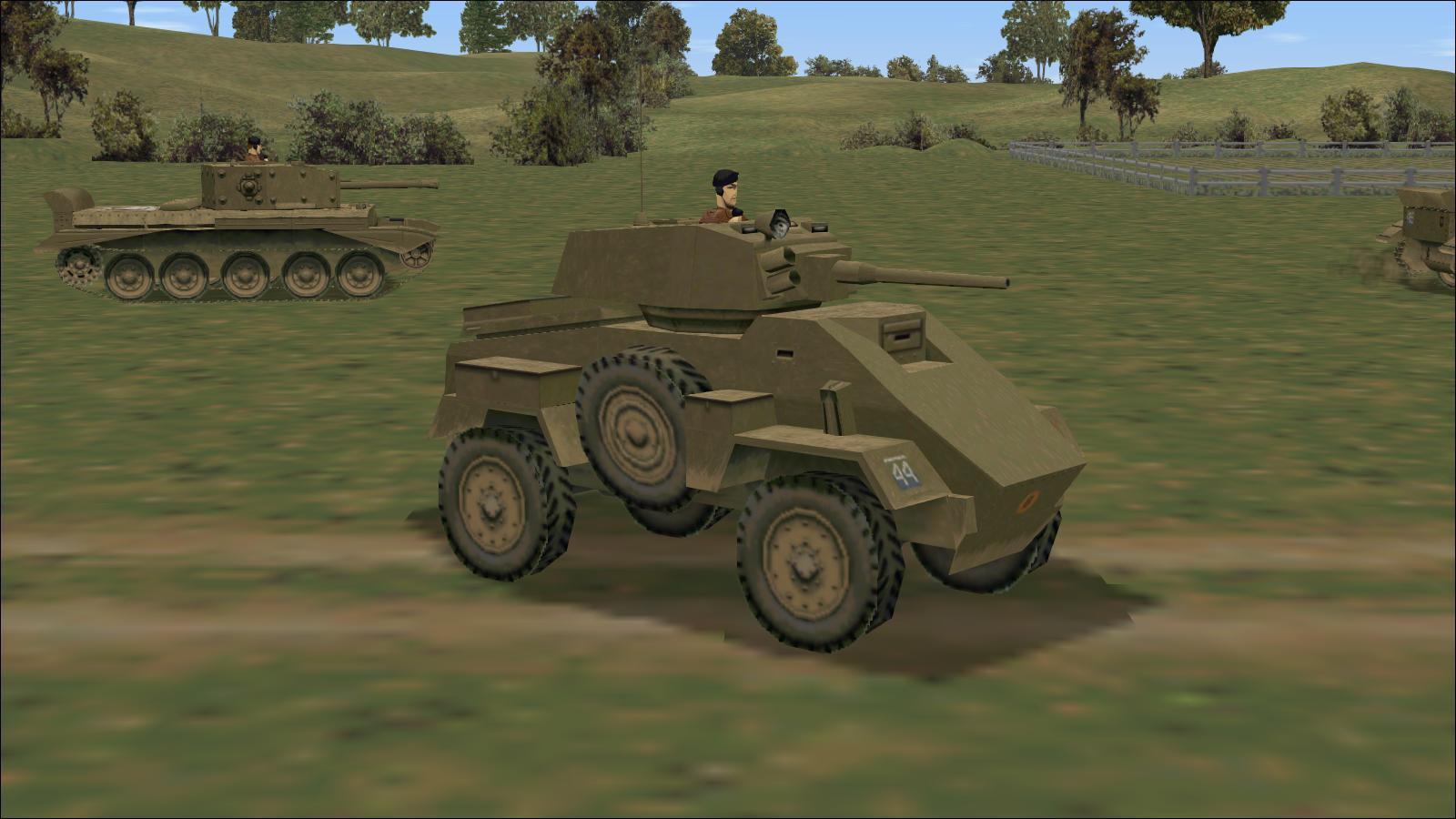 Panzer Elite Britpack '44-x beta - Humber Armoured Car