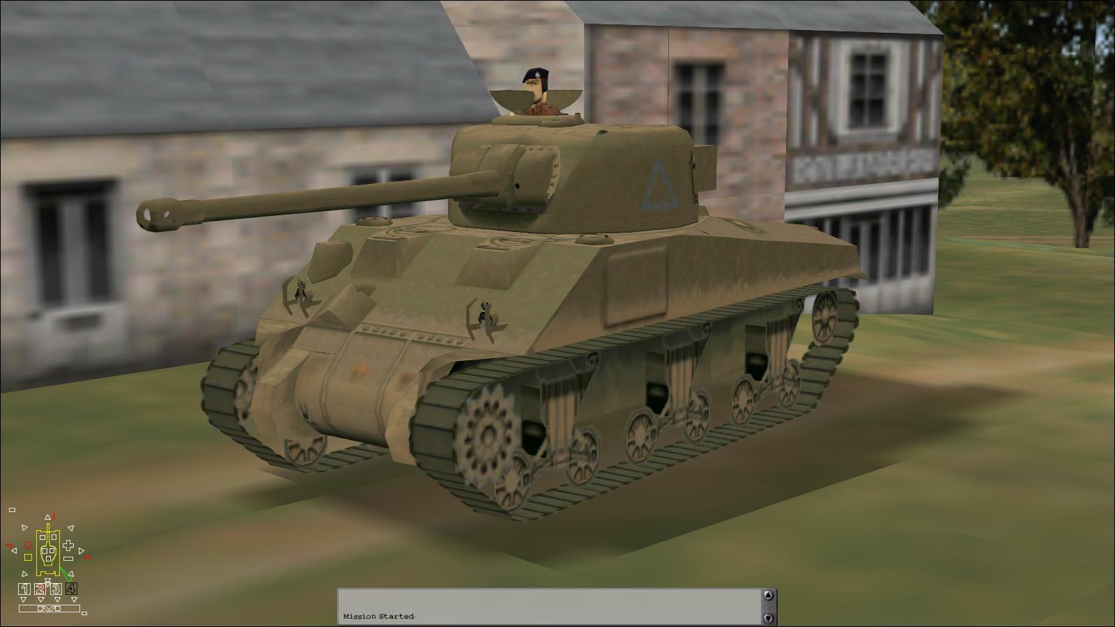 Panzer Elite - Britpack '44-x beta - Sherman VC 'Firefly'
