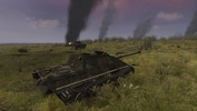 shot 2015 11 22 22 35 28 0008Steel Fury+STA mod: Op Bluecoat mission: Jagdpanther passing Churchills knocked out on the forward slope of Hill 226