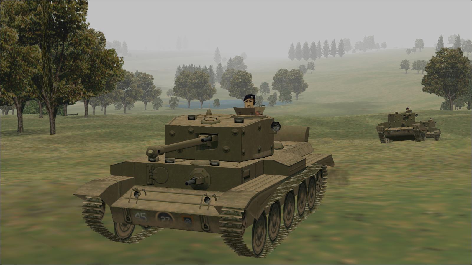 Panzer Elite - Britpack '44 - Cromwells