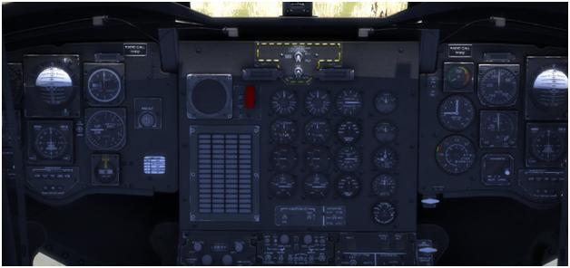 CH-47D panel