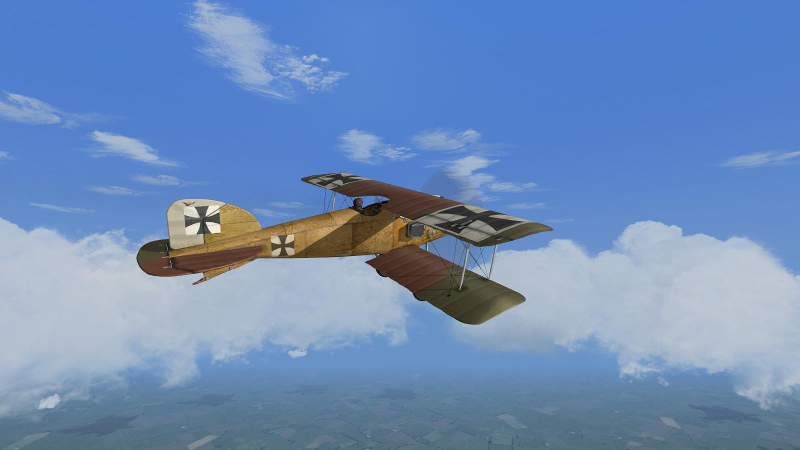 Albatros D.II, Jasta 2 campaign, Wings over Flanders Fields