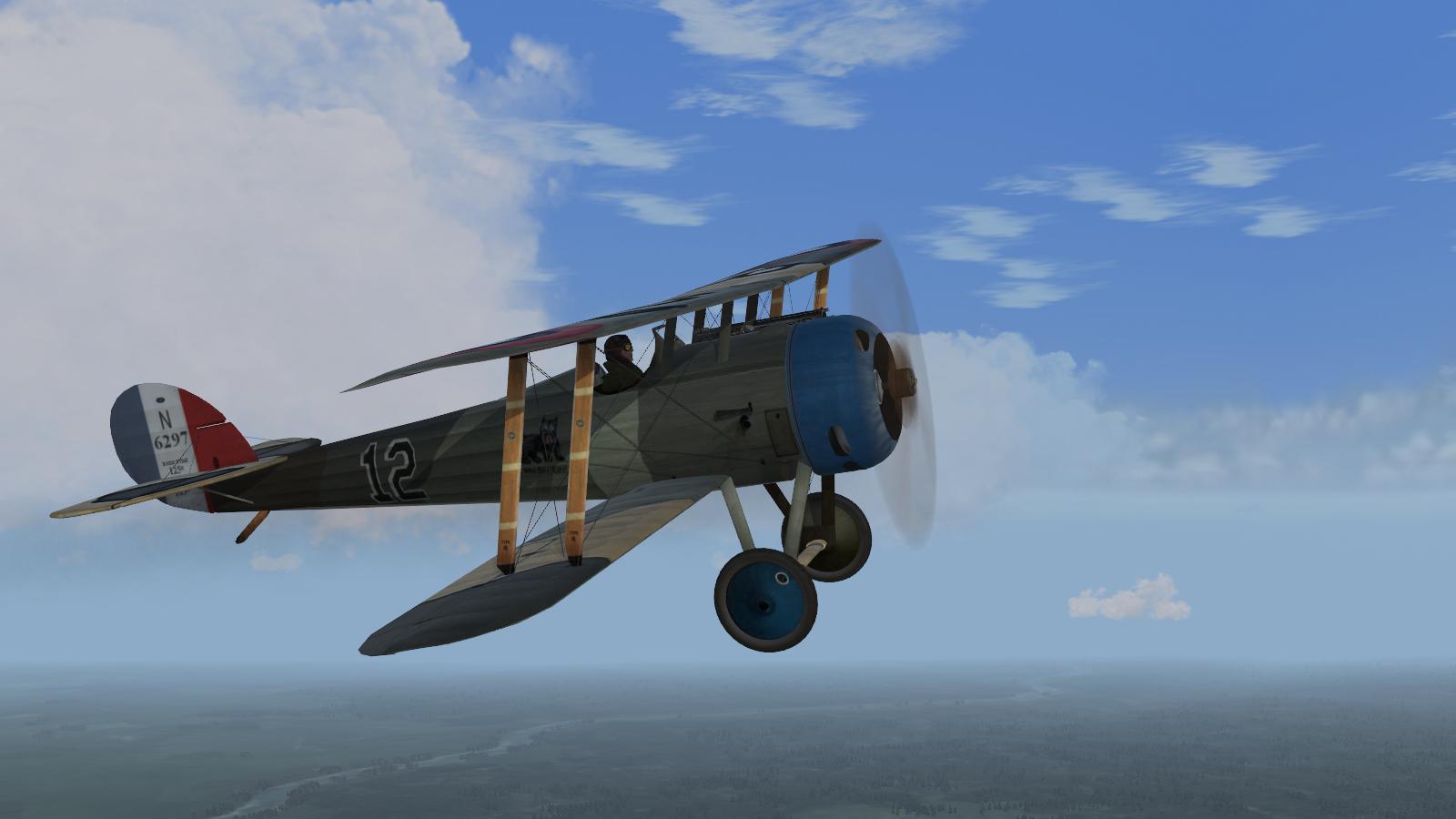 Wings over Flanders Fields - Nieuport 28