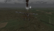 Albatros D.II downs an observation balloon, Jasta 2 campaign, Wings over Flanders Fields