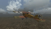 Wings over Flanders Fields - a Jasta 2 Albatros D.II over a ruined town at the lines, October 1916