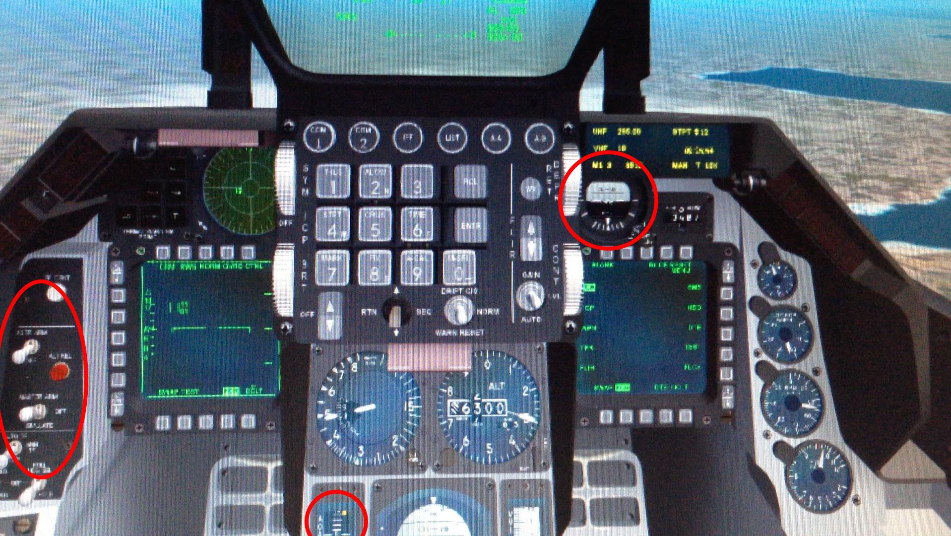 Flickering Cockpit