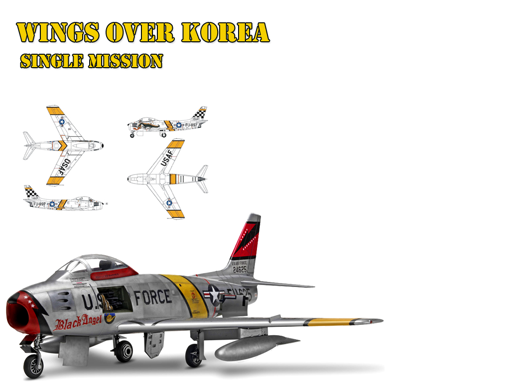 WOE Single Mission screen converted to Wings Over Korea.