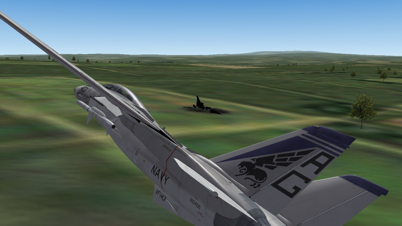 Vectored into the crash site