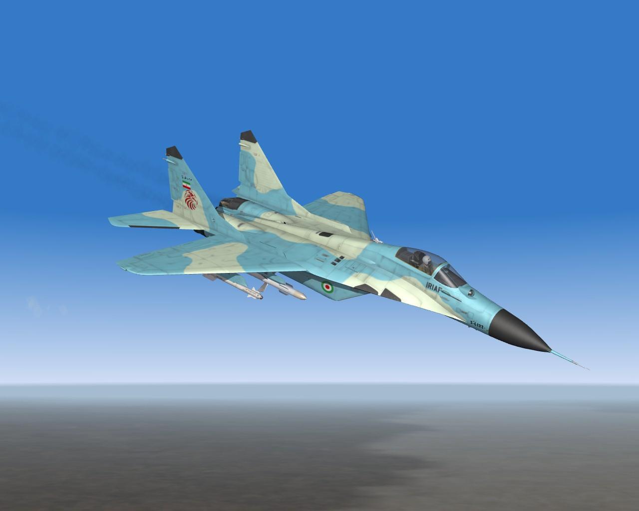 20th Anniversary IRIAF MiG-29