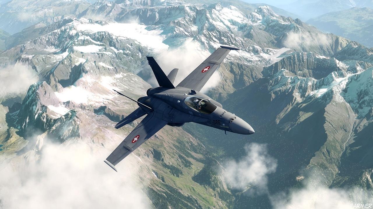 F 18 Hornet 12