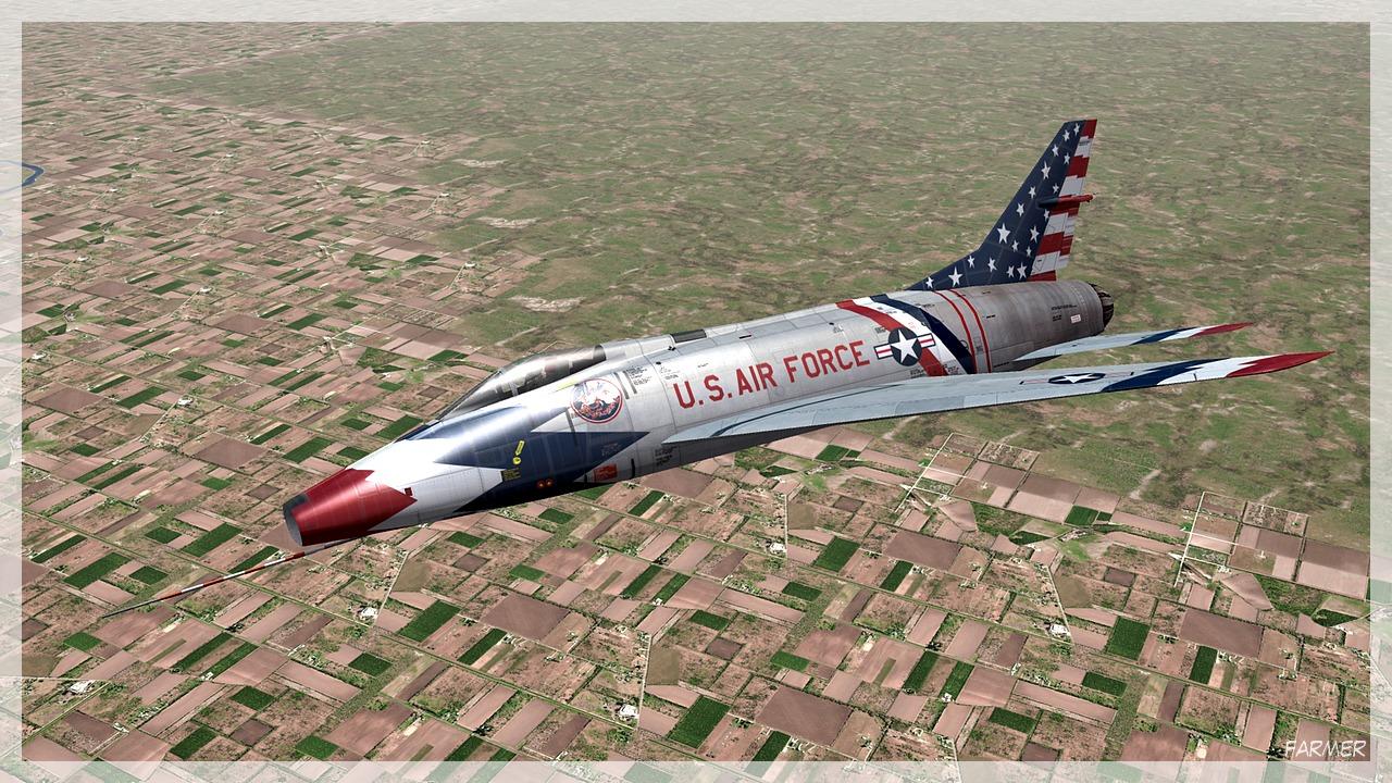 F 100C Super Sabre 13