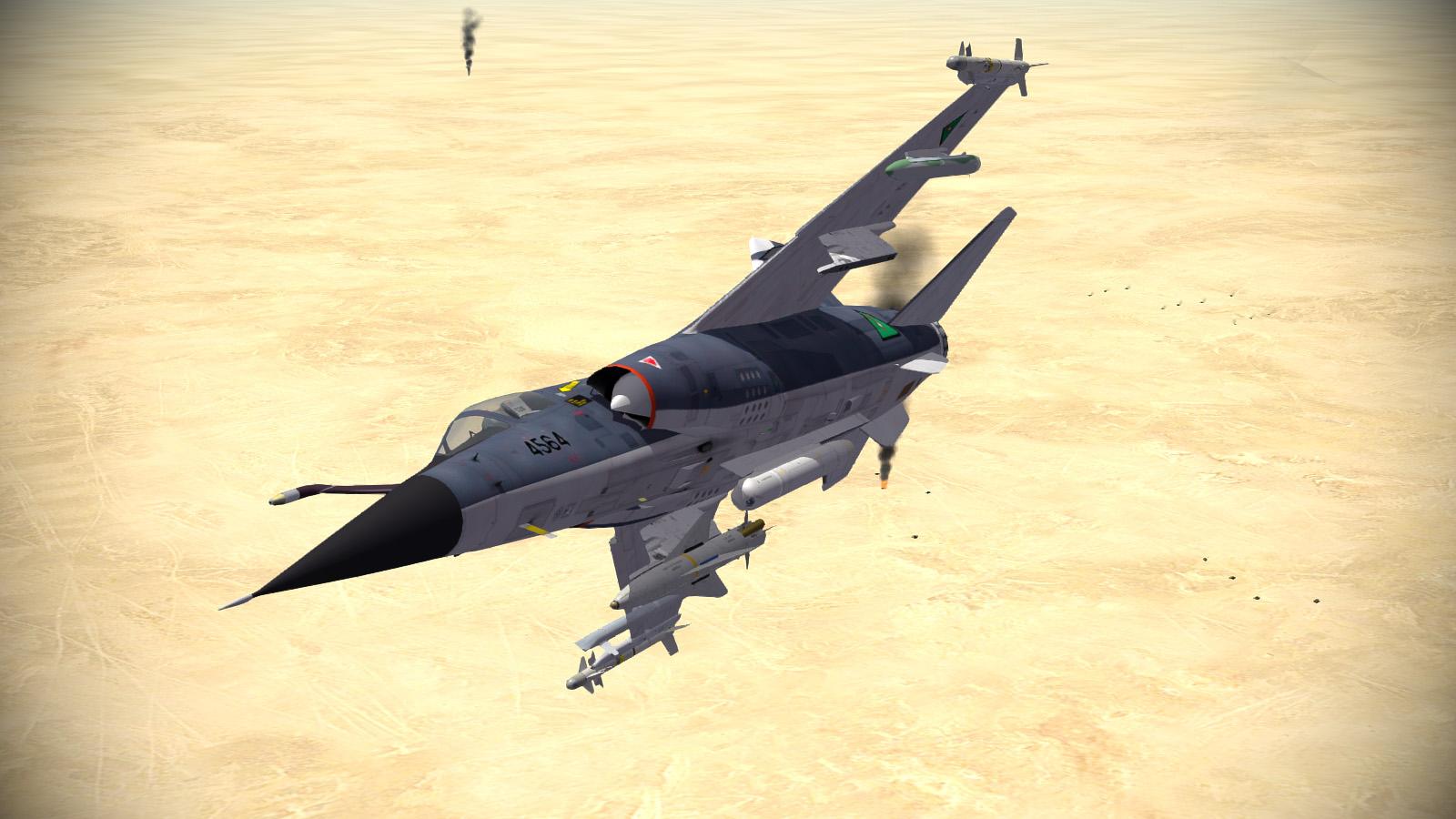 Mirage F.1EQ5 w AS-30Ls