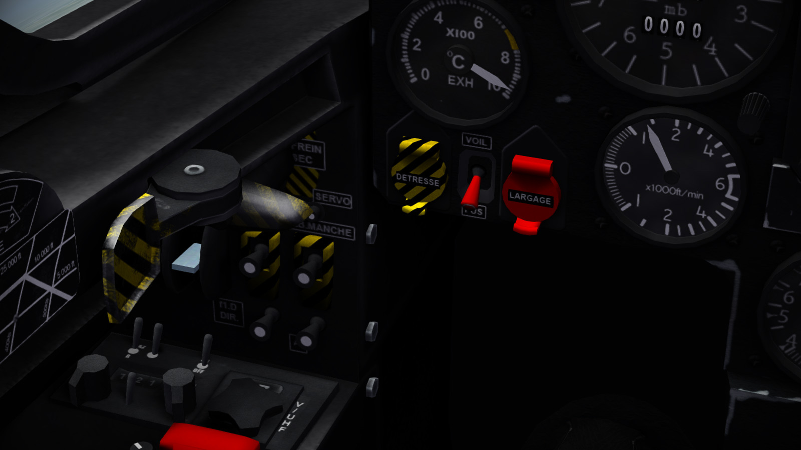 "Mirage F.1C200 Cockpit ""Final"" 2"