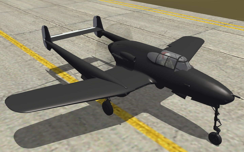 J-21A-3 flight test