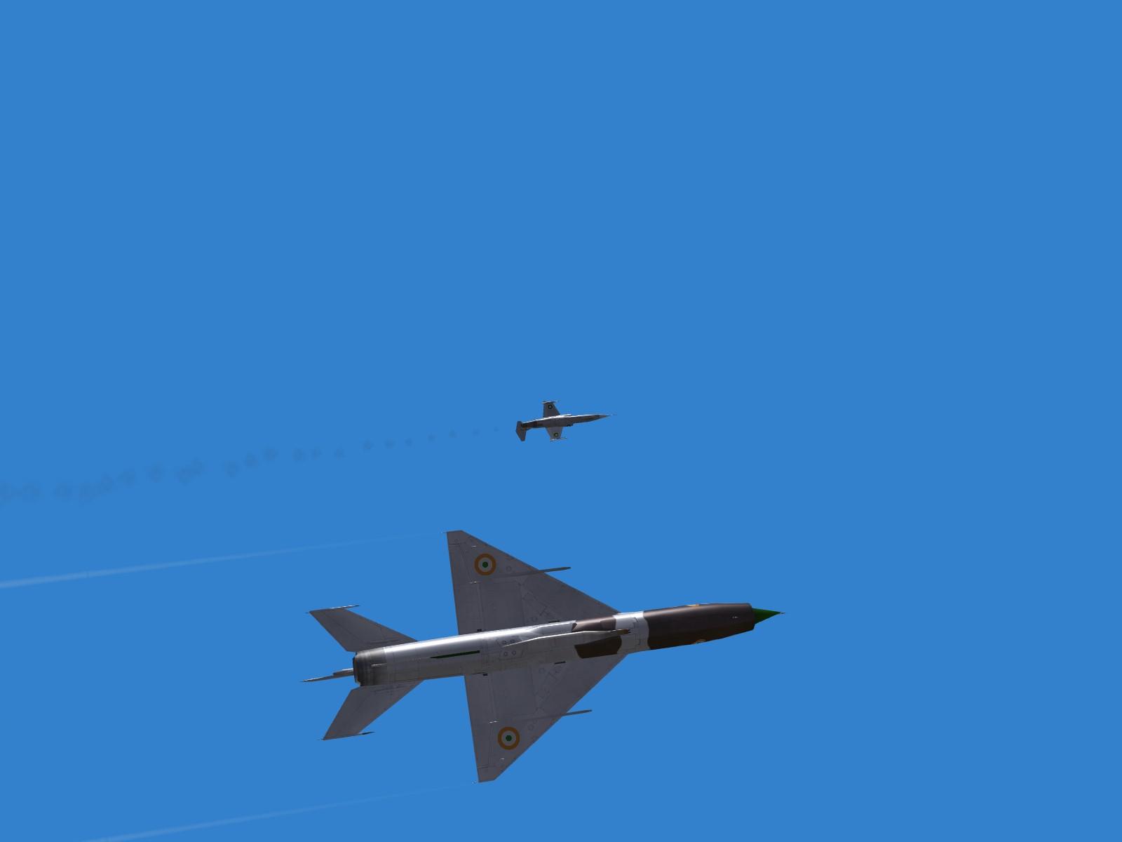 IAF Mig vs PAF F-104 (2)