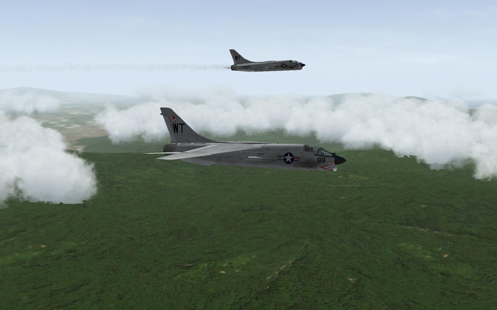 CRUASDERs over Vietnam