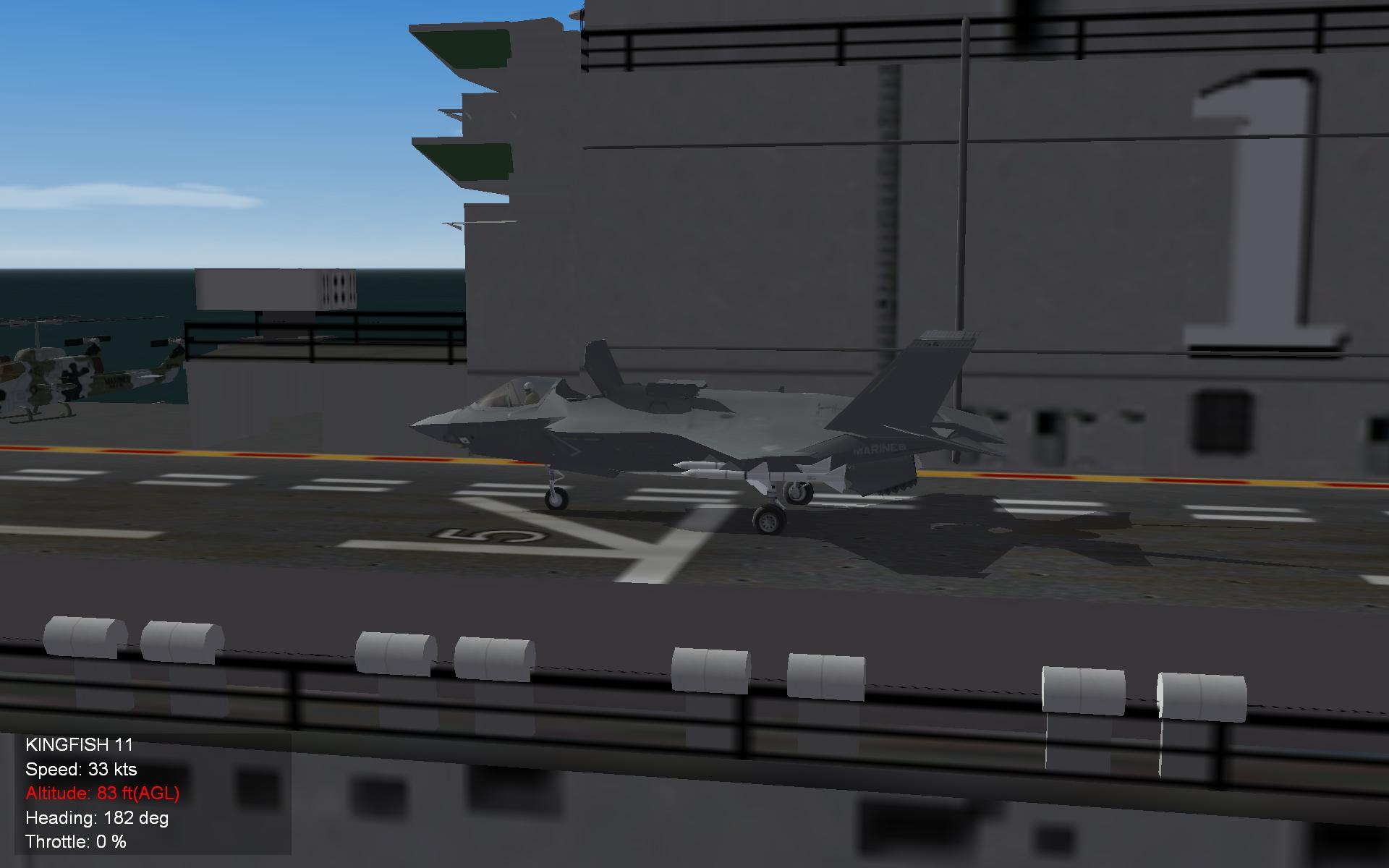 F 35 B  abord The Tarawa