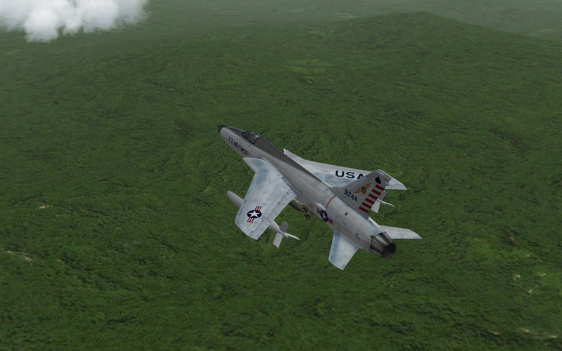 Thunderchief early In Vietnam