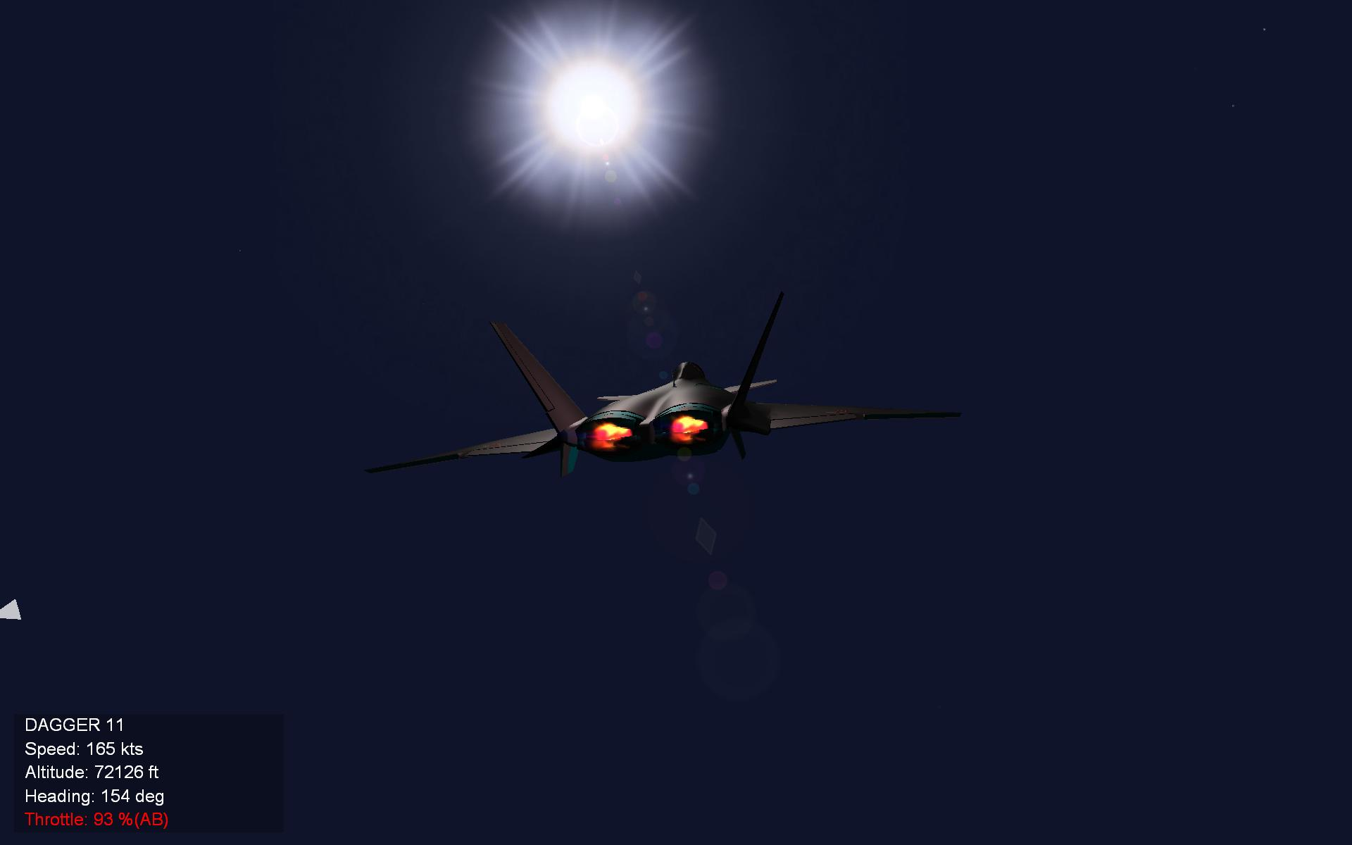 MiG 1 44  Reach For The Sun !!