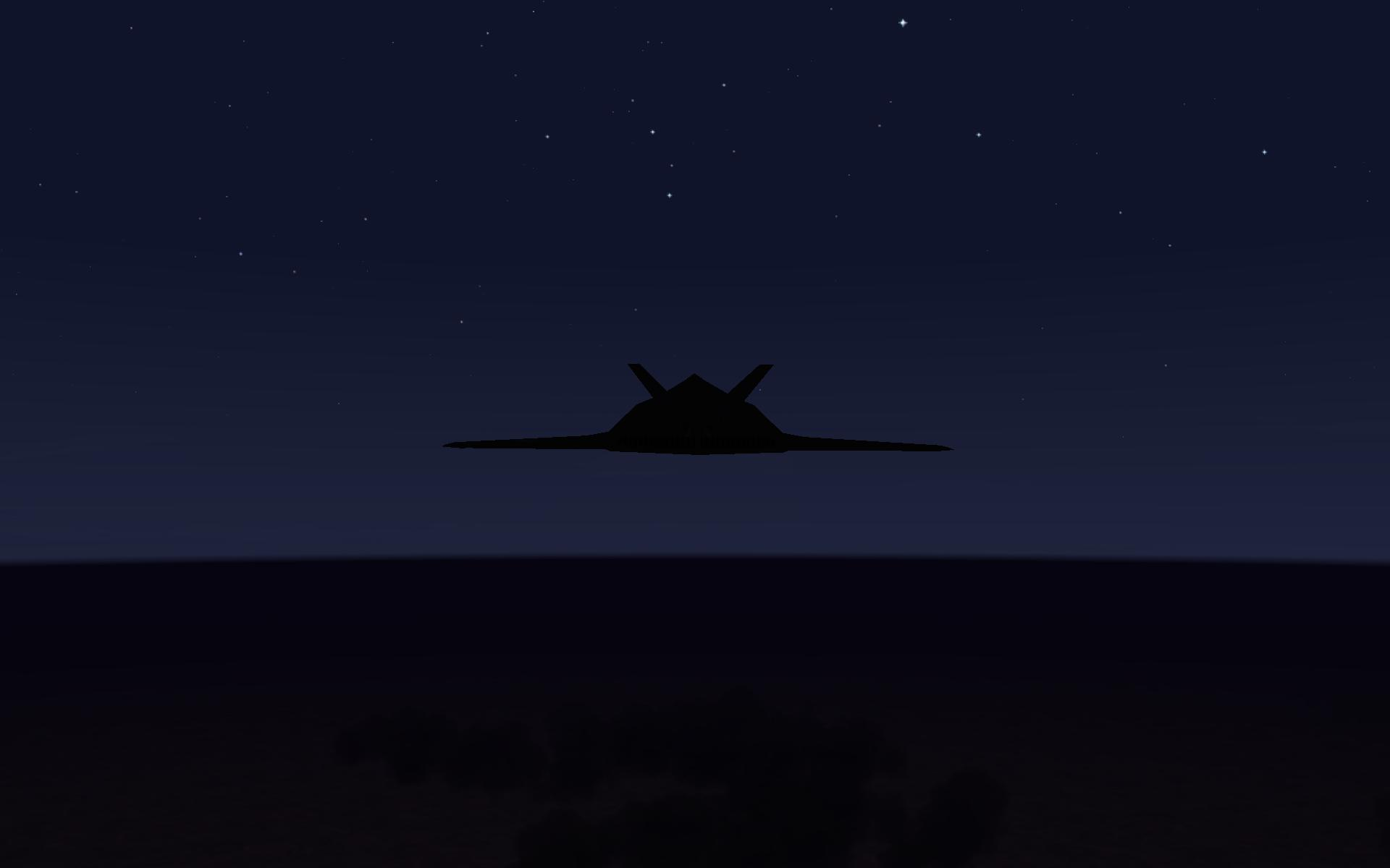 F 117a Nighthawk   DESRET STORM