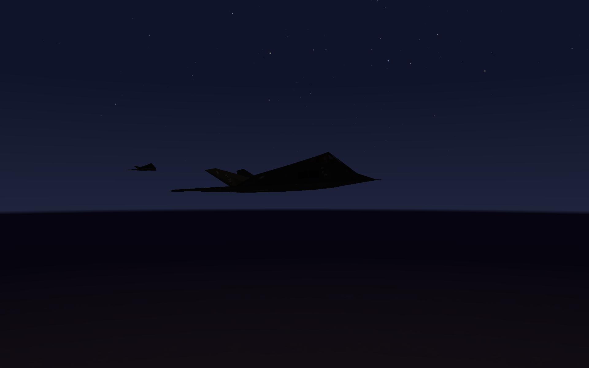 Next stop Bagdad   F 117a