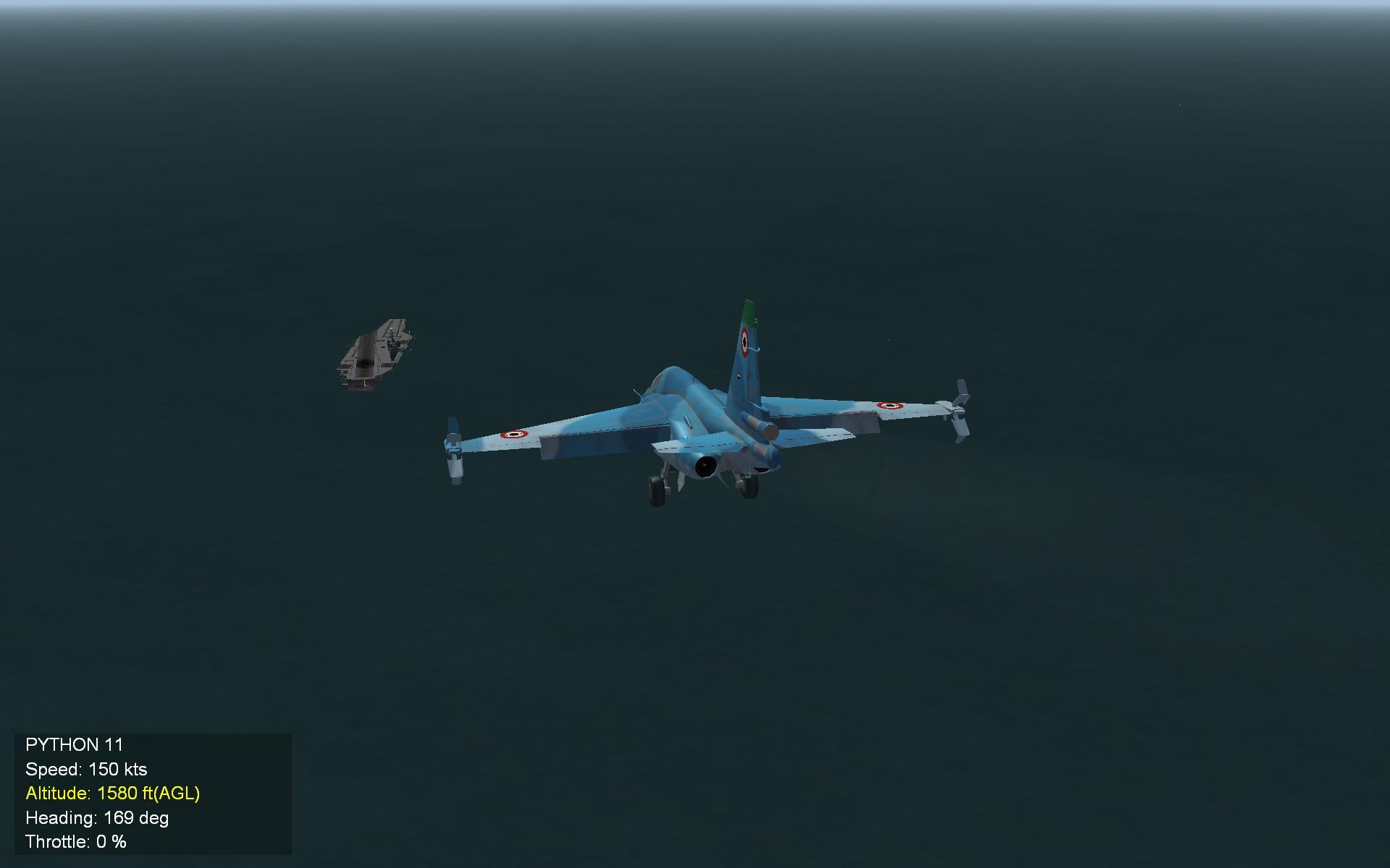 Su 39 Super Sea Grach heads home