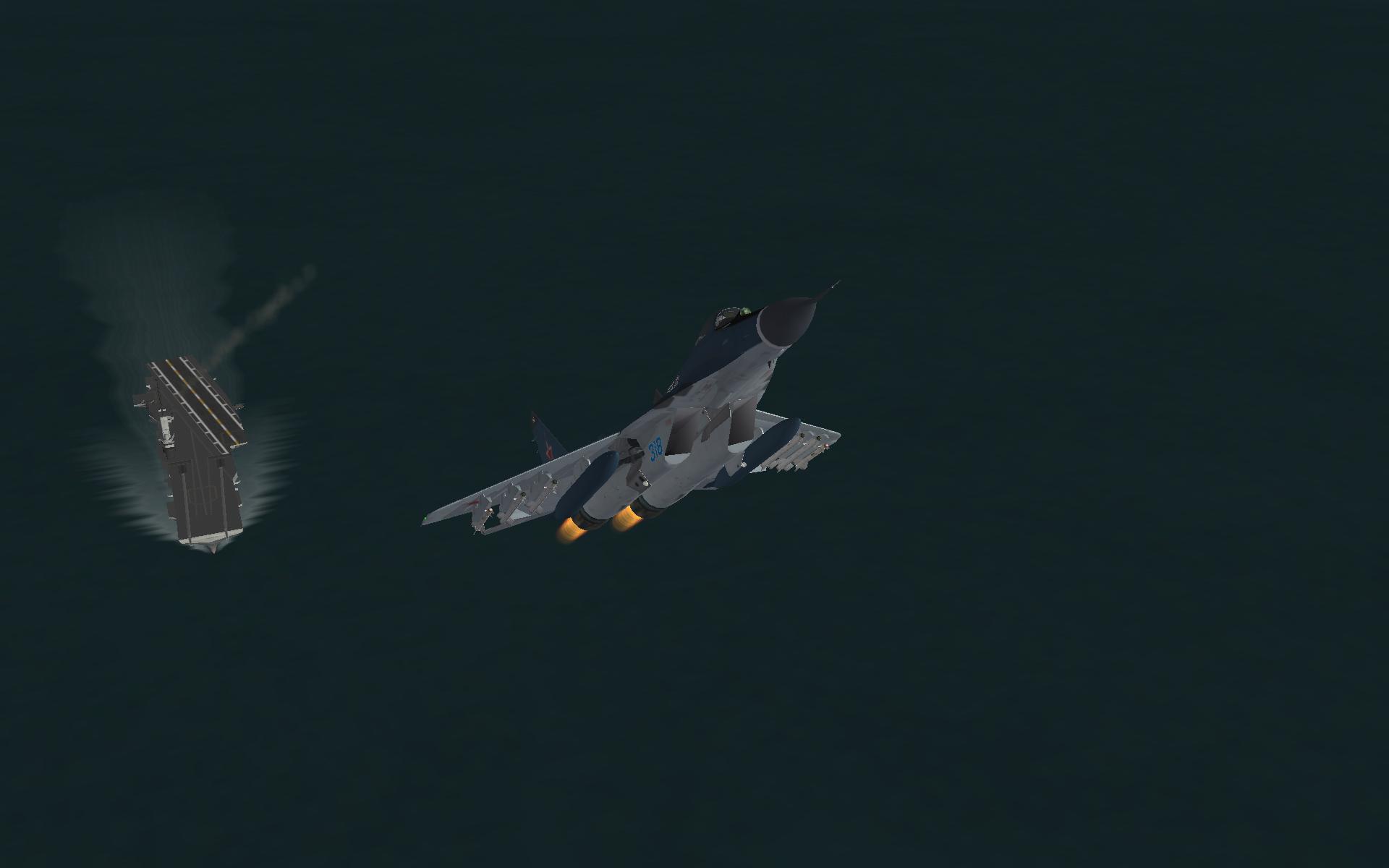 MiG 29K Lift Off