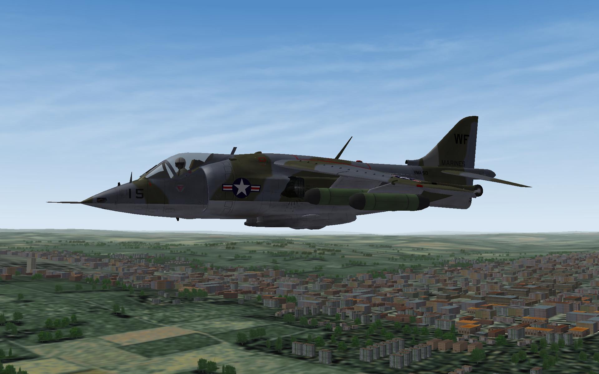 USMC AV 8A over Europe
